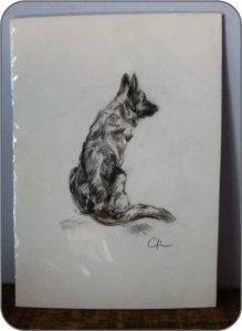Desenho de cachorro