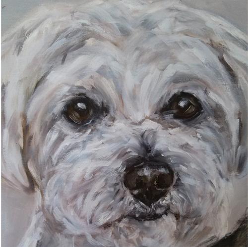 quadro-cachorro-pintura-maltes